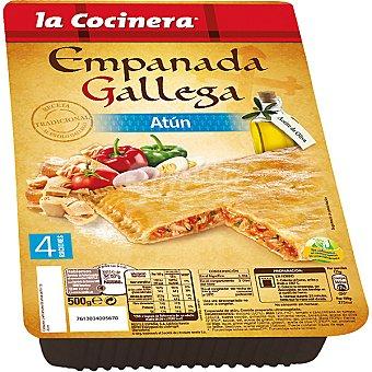La Cocinera Empanada gallega de atún Bandeja 500 g