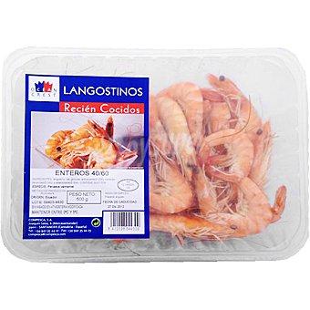 OCEAN CREST Langostinos cocidos 50-70 piezas/kg Bandeja 500 g