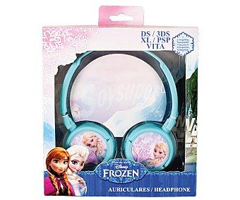 DISNEY Auriculares diseño Frozen compatibles con Nindendo Ds/3Ds/3DsXL y Psp/PsVita 1 Unidad