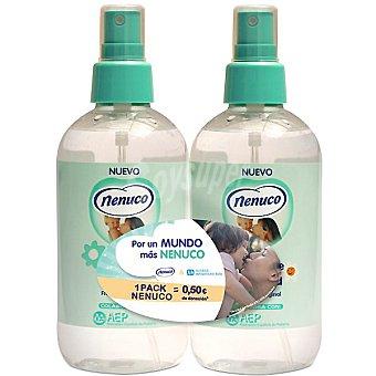 Nenuco Agua de colonia fragancia original Pack 2 spray 240 ml