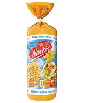 Bicentury Tortitas de maiz sin sal nackis 130 g