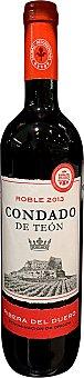 CONDADO TEON Vino tinto Ribera Duero roble Botella de 75 cl