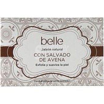 Belle Jabón natural con salvado de avena Pastilla 125 g