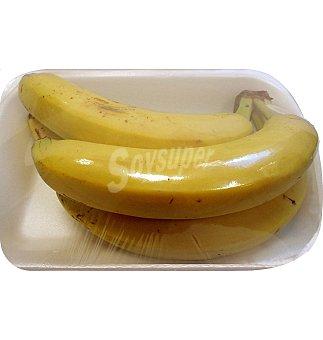 Banana extra en Bandeja de 4 unidades 650 g