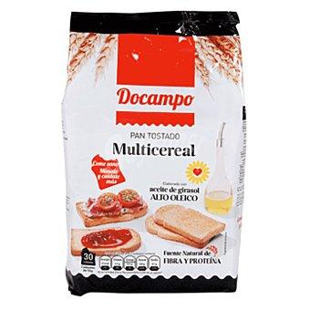 DOCAMPO Pan tostado multicereales paquete 270 gr