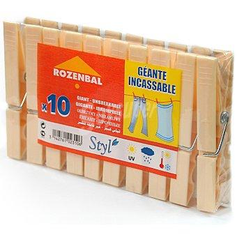 Rozenbal Styl pinzas para la ropa de plastico Gigante