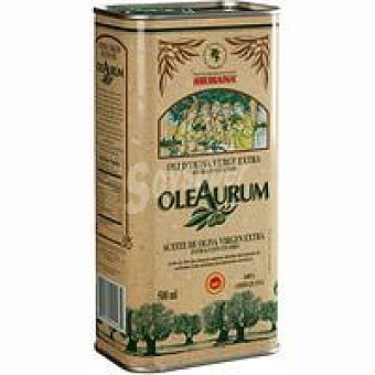 D.O. Siurana OLEAURUM Aceite de oliva v. extra Lata 50 cl