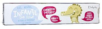 Deliplus Dentifrico gel infantil Tubo 75 cc