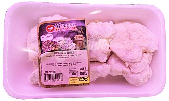 Embutidos Moreno Plaza Cerdo hueso blanco salado fresco Bandeja 500 g