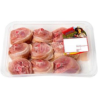 Matisa Delicias de pollo mallorquin peso aproximado bandeja 600 g Bandeja 600 g