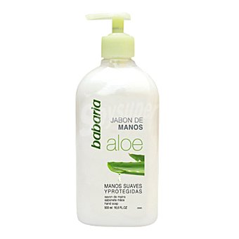 Babaria Jabón liquido Aloe Vera 500 ml