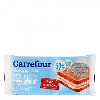Carrefour Queso en lonchas light 300 G 300 g