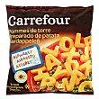 Letras de patata 600 g Carrefour
