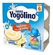 Postre natillas sabor vainilla 4 unidades x 100g Yogolino Nestlé