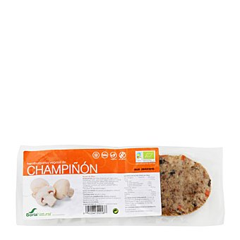 Soria Natural Hamburguesa de tofu con champiñón ecológica 160 g
