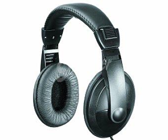 SELECLINE TM759 Auriculares tipo TV (producto económico alcampo), negro, con cable