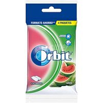 Orbit Chicle de sandía en gragea Pack 4x14 g