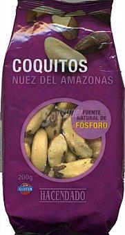 Hacendado Coquitos (nuez DEL amazonas) Paquete 200 g