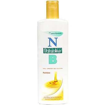 Palmolive Gel de ducha NB con Miel y Leche Hidratante 600 ml