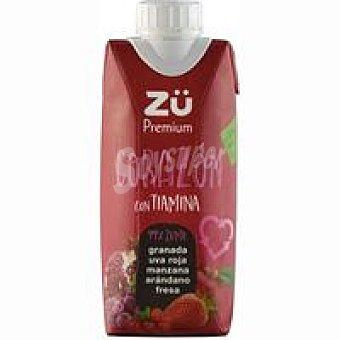 Zü Premium Zumo Corazón Brik 33 cl
