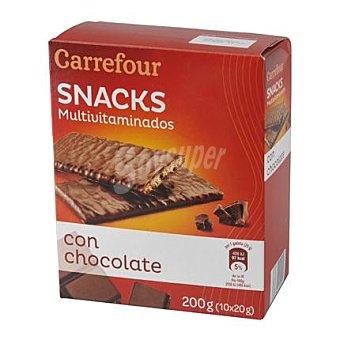 Carrefour Galletas multivitaminadas con chocolate 210 g