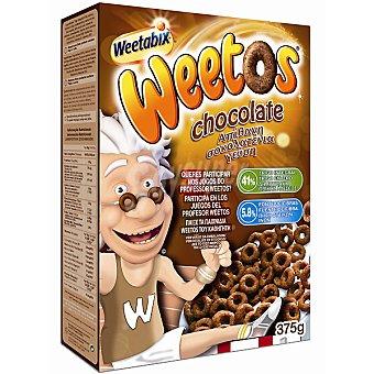 WEETABIX Weetos Cereales de desayuno de chocolate Estuche 375 g