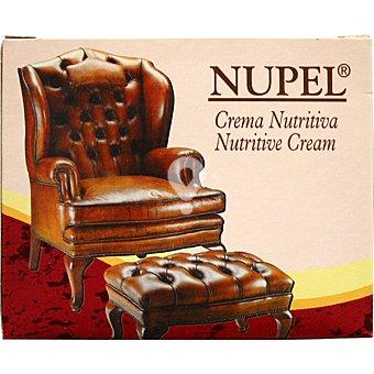 Crema nutritiva para tapizados de piel, napa y cuero