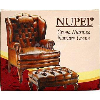 NUPEL Crema nutritiva para tapizados de piel, napa y cuero Tarro 170 ml