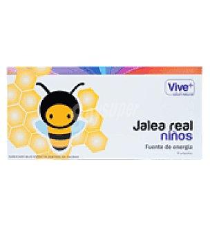 Vive+ Jalea real niños 10 ud