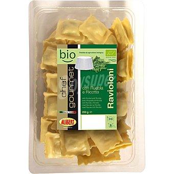 ALIBERT CHEF GOURMET BIO Ravioloni con rúcola y ricotta Envase 250 g