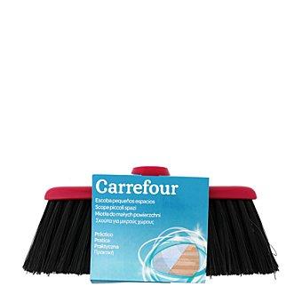Carrefour Escoba Pequeños espacios Gris 1 ud
