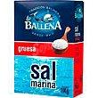 Sal marina gruesa LA ballena, paquete 1 kg Paquete 1 kg La Ballena