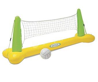 INTEX Juego hinchable de voley ball, compuesto por flotador con dos mástiles y red, medidas: 239x64x91 centímetros 1 unidad