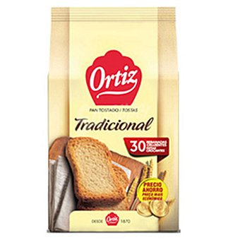 Tradicional Pan ortiz 30 UNI 270 G