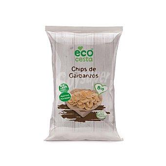 Ecocesta Chips de garbanzos biológicos Bolsa 80 g