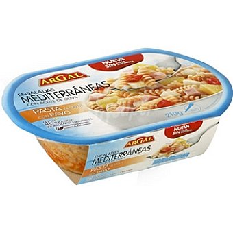 Argal Ensalada de pasta con pavo Envase 210 g