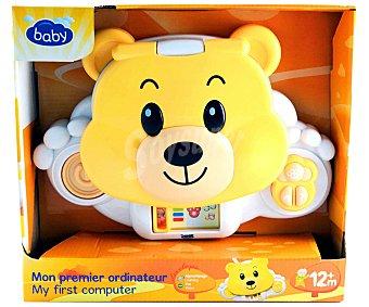 BABY Mi primer Ordenador Osito Teddy con Actividades 1 Unidad