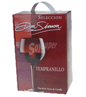 Don Simón Vino tinto seleccion bag in box 3 l