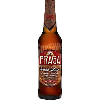 PRAGA 1784 Autentica cerveza negra checa Botella 50 cl