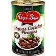 Habas cocidas picantes Baja Lata 240 g neto escurrido Vega