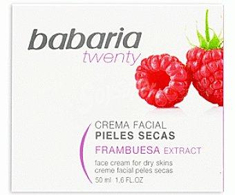 Babaria Crema Facial Hidratante Pieles Secas Frambuesa Twenty 50ml