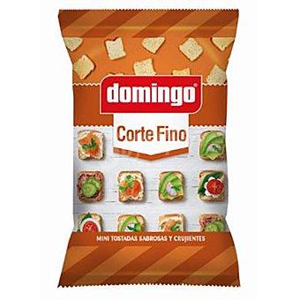 Domingo Mini tostadas de corte fino sabrosas y crujientes Bolsa 280 g