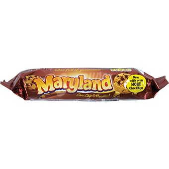Maryland Cookies de chocolate y avellana Paquete 145 g