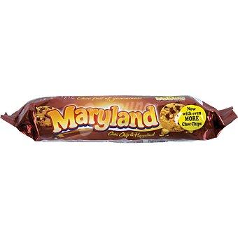 MARYLAND Cookies con chips de chocolate y avellanas paquete 145 g