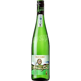 Ameztoi Vino blanco txakoli hondarribi zuri D.O. Txakoli de Getaria botella 70 cl 70 cl