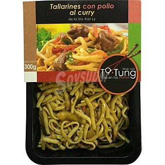 Ta Tung Tallarines con pollo al curry Envase 300 g