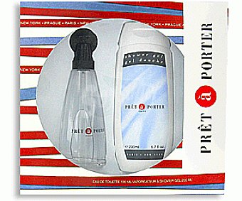 Pret a Porter Colonia Edt Spray + Gel Estuche col.+gel 1u