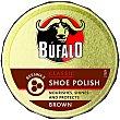 limpia calzado crema marrón  lata 50 ml Bufalo