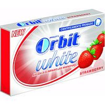 Orbit Chicles sabor fresa Tabs Paquete 32 g
