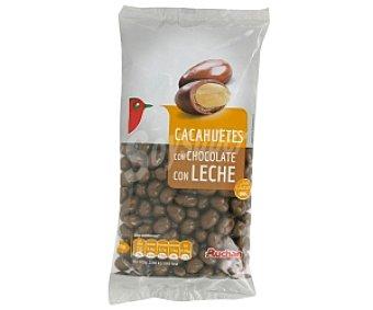 Auchan Grageados cacahueta chocolate con leche 250 gramos